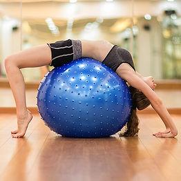 Massage-Yoga-balle-75-cm-particules-minc