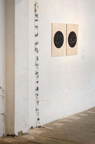 Exposição Meios e Processos- fotografia: Larissa Camnev