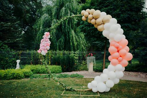 och balon, balony lublin, dekoracje lublin, ścianka balonowa