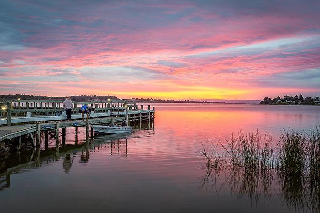 Clayton Bay Sunset