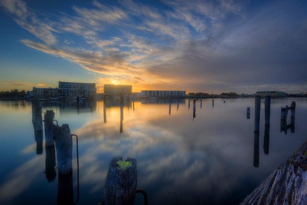 Portside Reflections