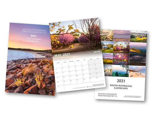 2021 South Australian Landscape Calendar