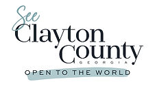 See Clayton County - full logo and tagli