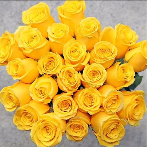 Sunburst ™ Rose Flower Bunch by 1800Gifters ®