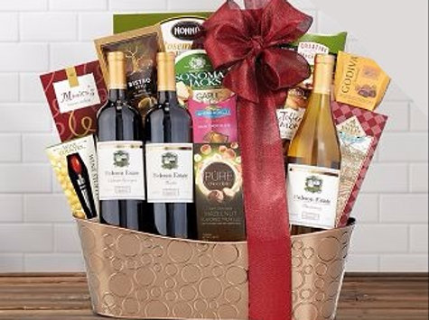 Hobson Estate Wine Gift Basket