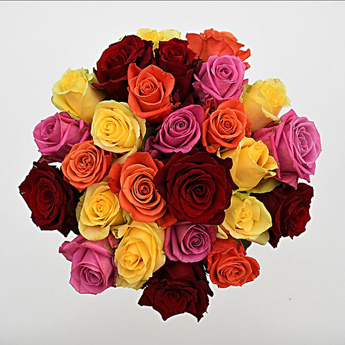 Kaleidoscope ™ Roses Bunchies ™ by 1800Gifters ®
