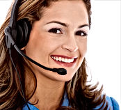Receptionist ready to answer questions when injured worker calls 1-800-666-6666.