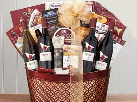 Talaria Vineyard Wine Basket