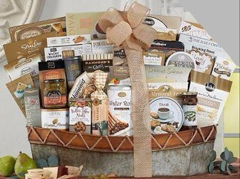 The Executive ™ Gift Basket from Baskettes ®