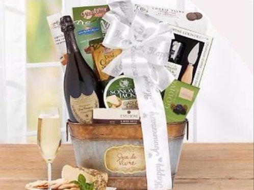 Winetasters ® Debonair Dom Wine Basket