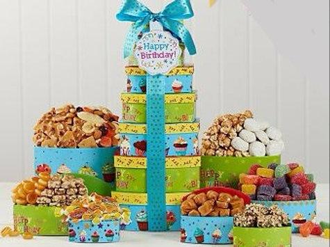 Birthday Munchies Gift Basket