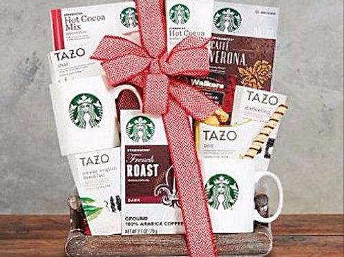 Starbucks ® Retreat Gift Basket from Baskettes ®