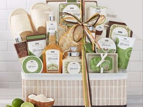 Cocolimee Spa ™ Gift Basket from Baskettes ®
