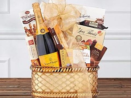 Winetasters ® Veuve Clicquot Champagne Wine Basket