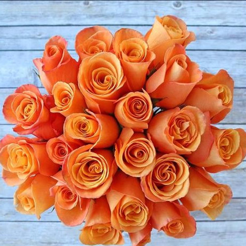 Orange Flame ™ Roses Bunchies ™ Flowers 1800Gifters ®