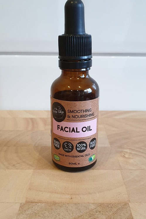 Sandalwood & Patchouli Rejuvenating Facial Oil