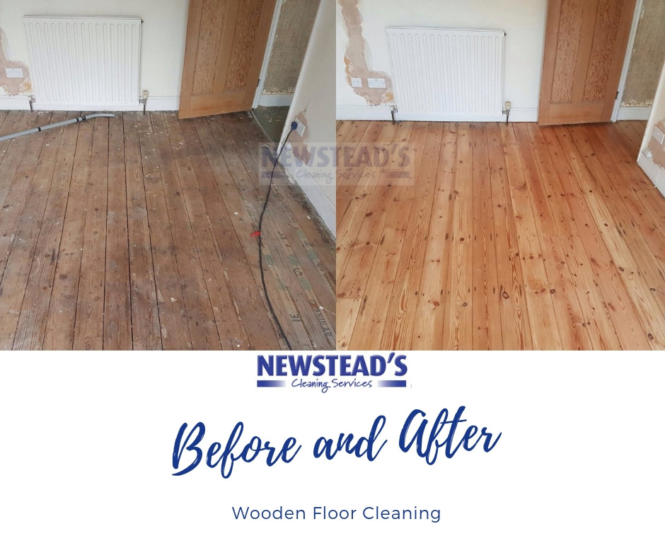 Wooden Floor Cleaning | Newsteads Cleaning Services | North London