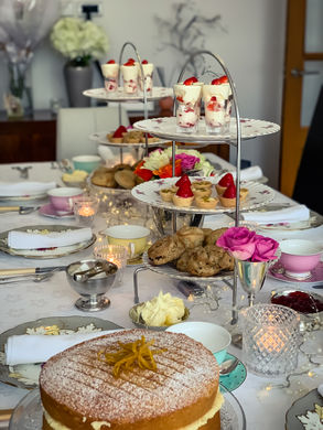 Cakes, Scones and Tartlets