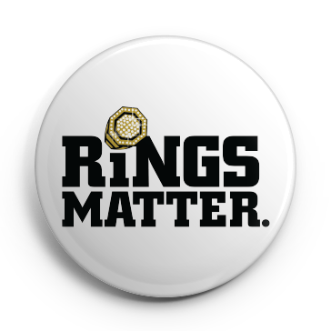 Rings Matter. Button