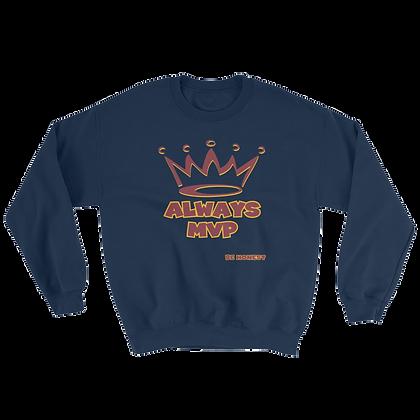Always MVP. Navy Sweatshirt