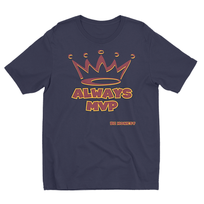 Always MVP. Navy T-Shirt