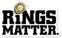 Rings Matter. Sticker