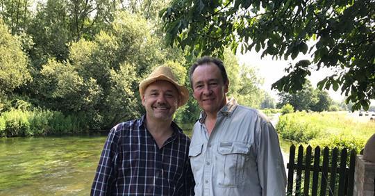 Paul & Bob Go Fishing