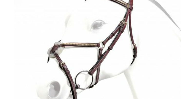 Equipe Grackle Bridle with Clincher