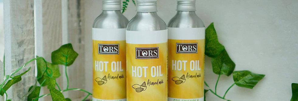 Tors Almond milk hot oil