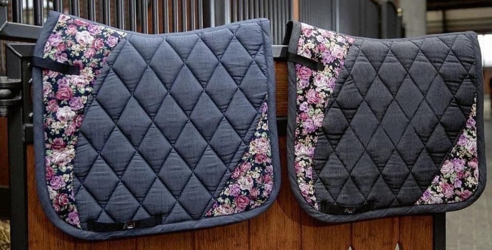 Saddle cloth -Flower- Style
