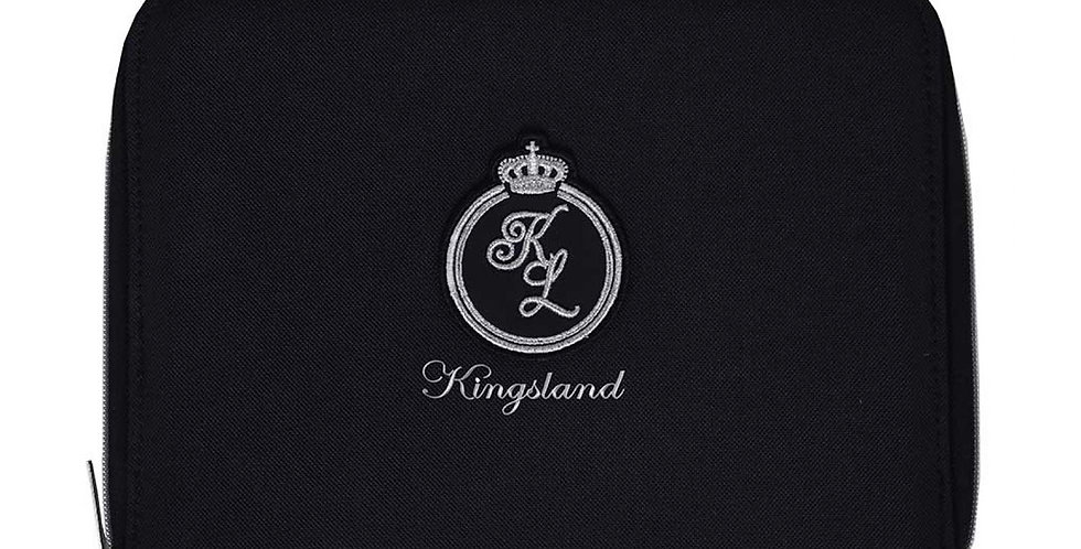 KINGSLAND SAINT PEIRE HORSE PASSPORT COVER - BLACK