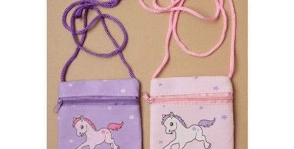 Pony Print Purse