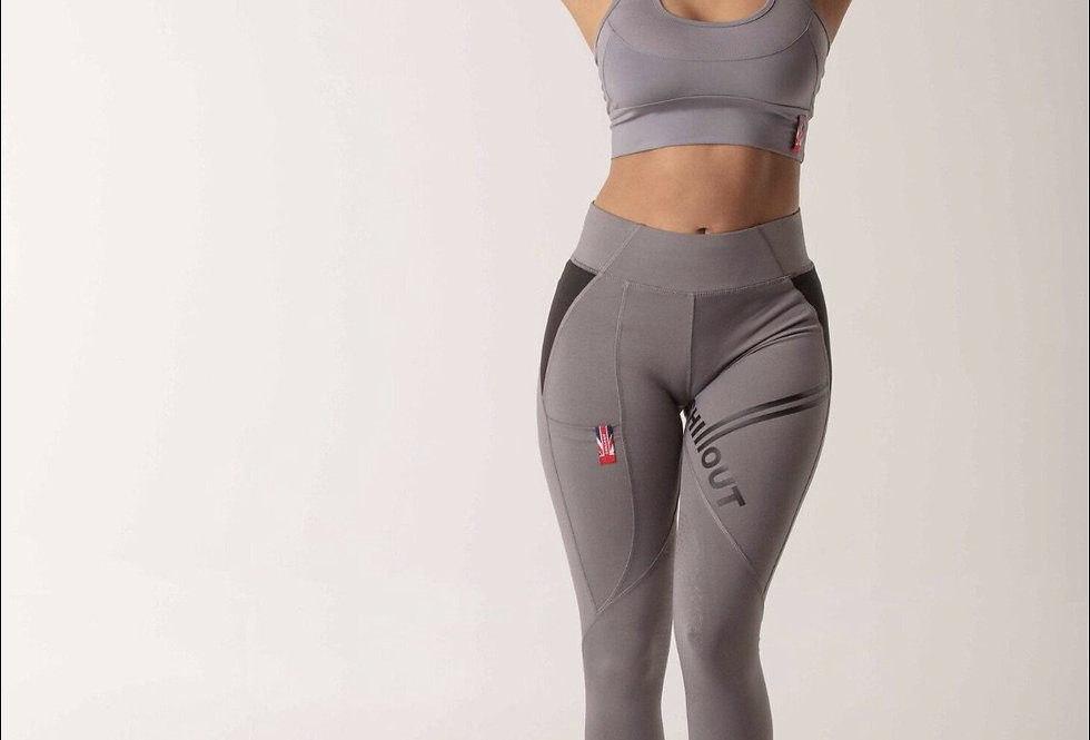 Chillout Extreme Grey silicone leggings