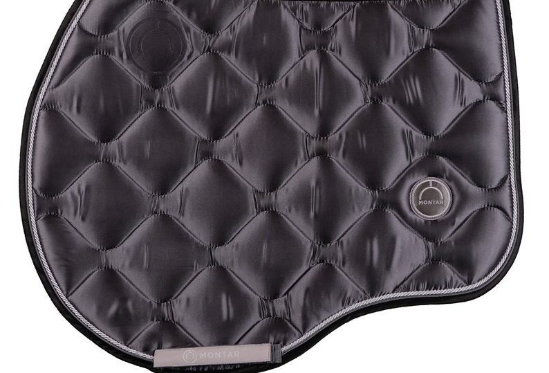 Montar jump Dlux saddle pad -grey