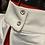 Thumbnail: Hy Equestrian Roka Rose Show Shirt White with Navy/Rose Gold Diamantes