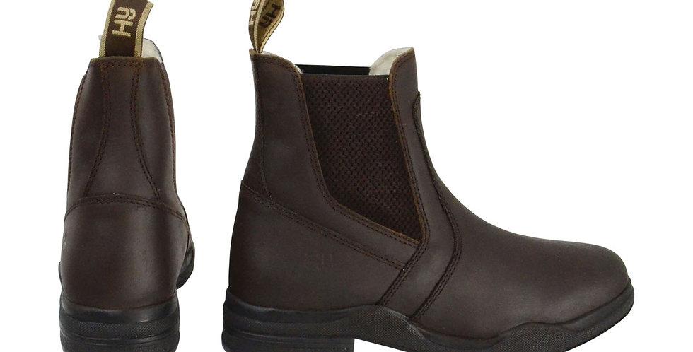HyLAND Fleece Lined Wax Leather Jodhpur Boot