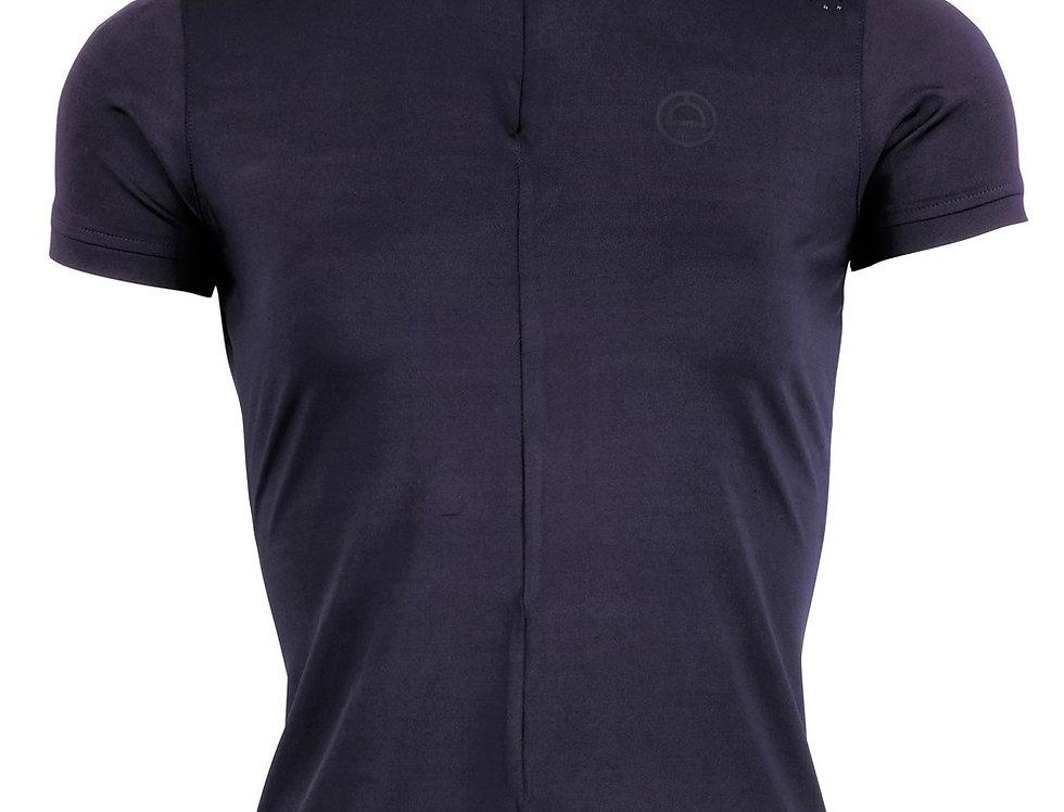 Montar Demy Mon-Tech Shirt Crystal Shoulders - Navy