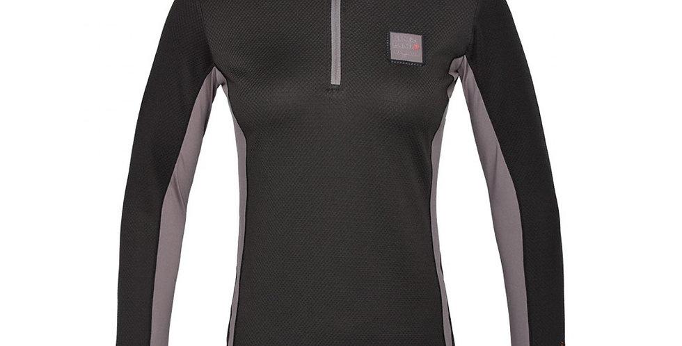 Kingsland maxine Ladies Training Shirt with 1/2 Zip Green beluga