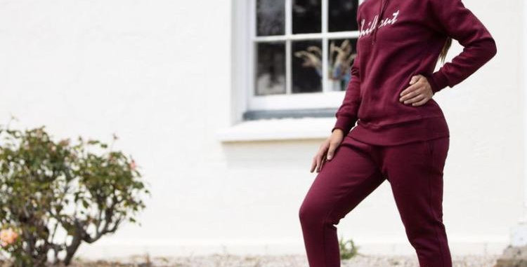 Chillout Signature Burgundy joggers