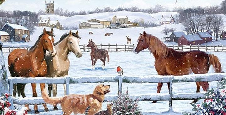 Jigsaw - Christmas on the Farm