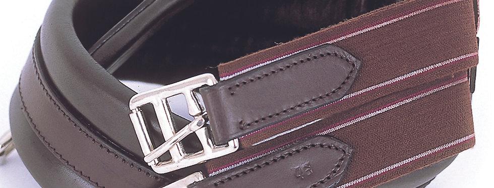 Windsor Equestrian Leather Padded Girth