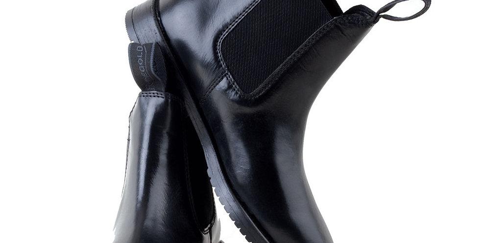 Rhinegold Adults Classic Leather Jodhpur Boots (sizes 6-11)