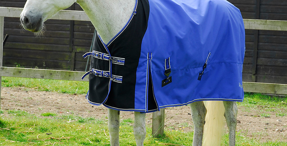 Rhinegold Elite Storm Outdoor Rug With Waterproof Stretch Chest Panel NECK COVER