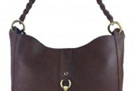 Joanna Handbag Natural Leather Brown
