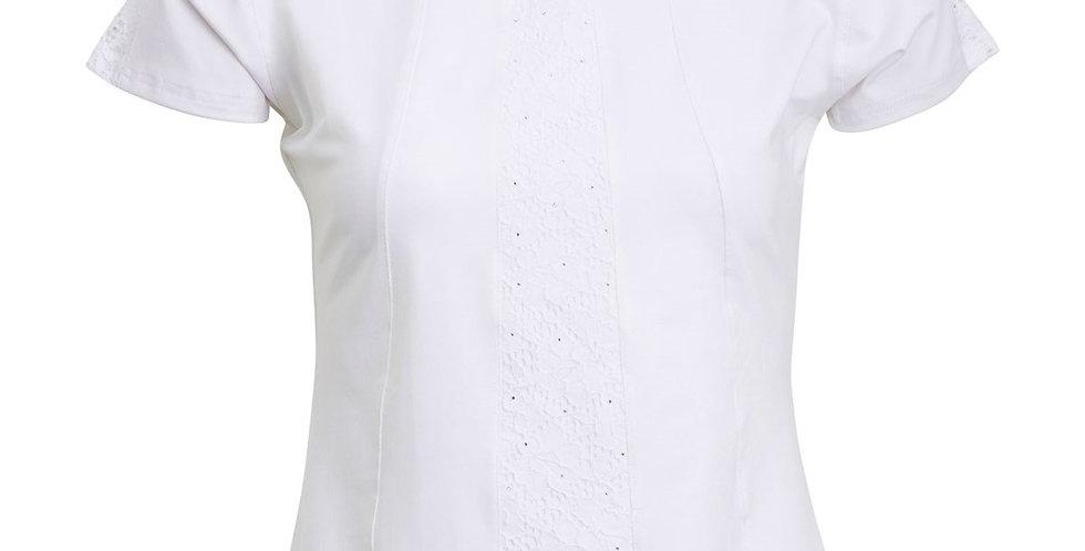Montar Rae Ladies Competition Shirt - White