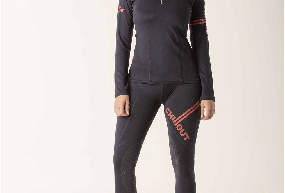 Chillout Extreme Navy/Red base layer