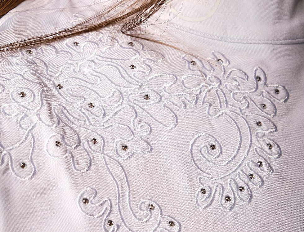 Montar Karen flower embroidery