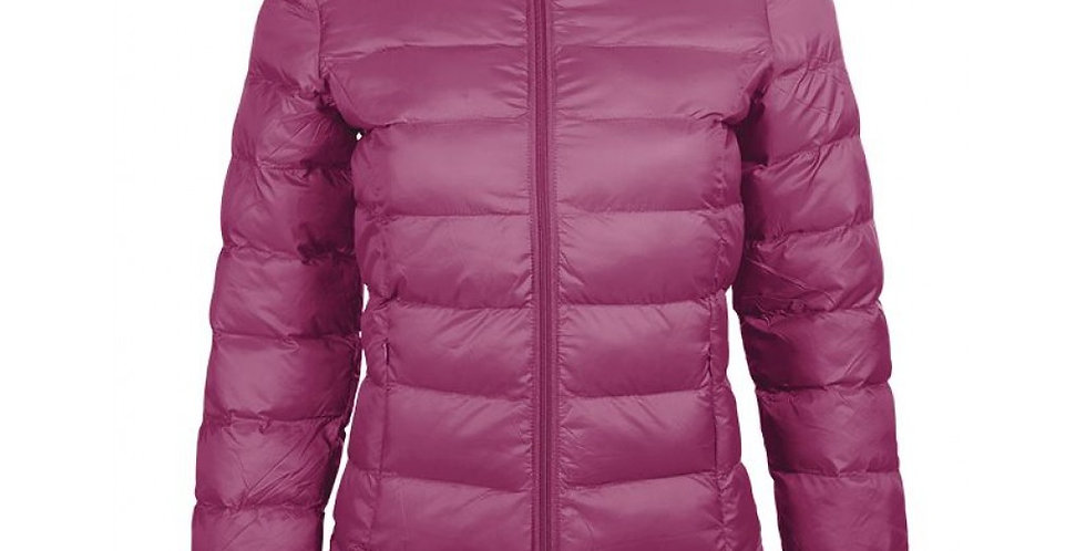 HKM Quilted Jacket - Lena - Cranberry