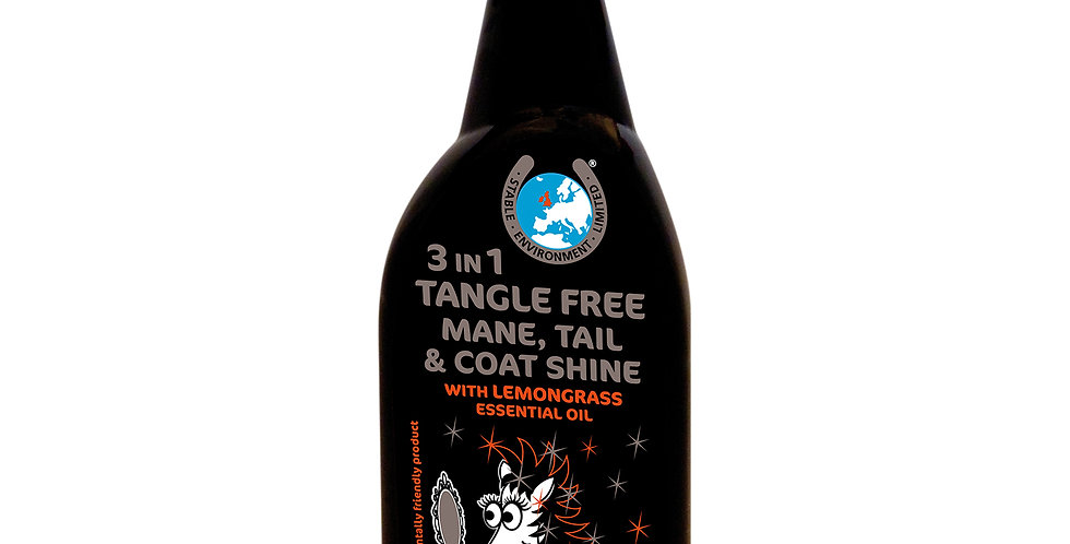 3 IN 1 TANGLE FREE MANE,TAIL & COAT SHINE
