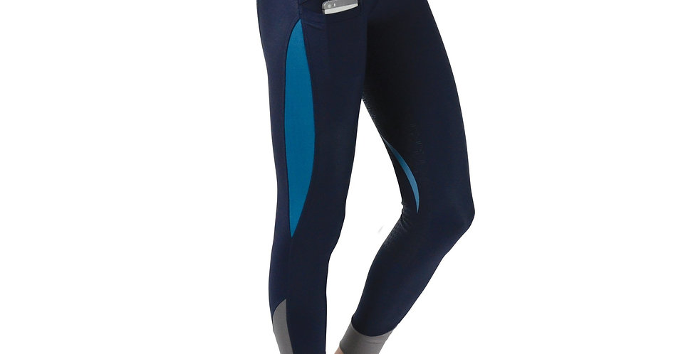 Hy Sport Active Silicone Full Seat Riding Tights
